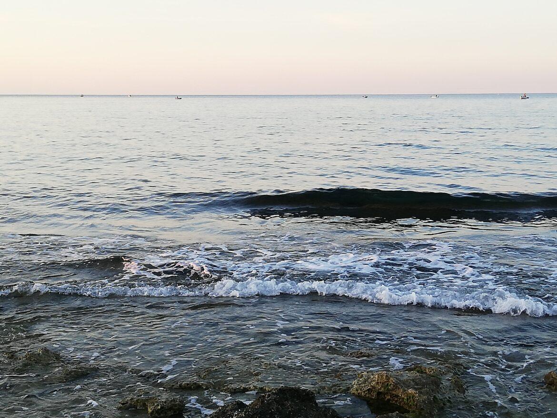 Il respiro morbido del mare