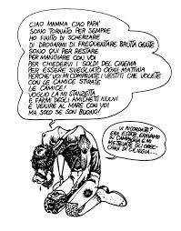 Andrea Pazienza, geniale fumettista pugliese.