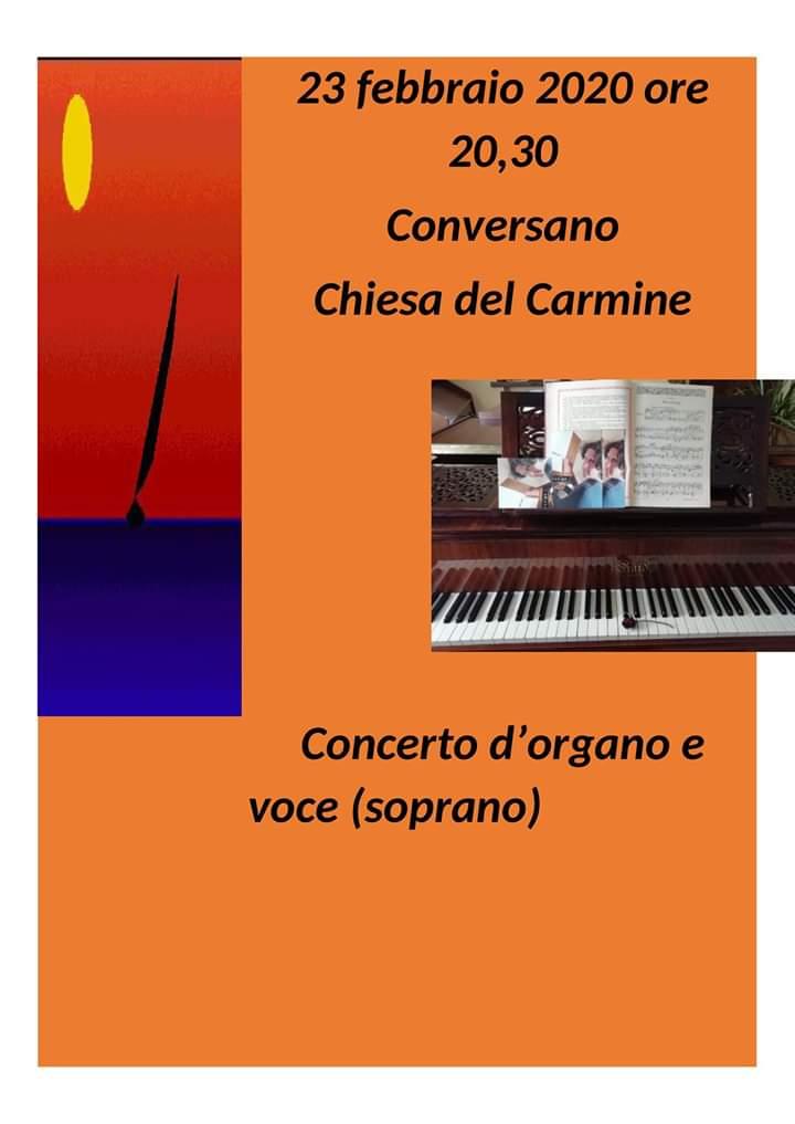 """Concerto per Davide…""""con"""" Davide (Conversano, Chiesa del Carmine, 23 febbraio, ore 20)"""